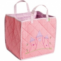 Win Green Pink Princess Castle Toy Bag