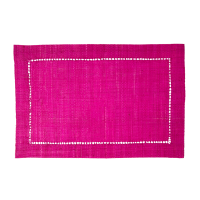 Raffia Placemats in Fuchsia Pink by Rice DK