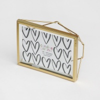 Gold Rectangular Photo Frame By Caroline Gardner