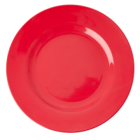 Red Kiss Melamine Dinner Plate Rice DK