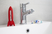 Red Rocket Timer For Kids Teeth Brushing By j-me