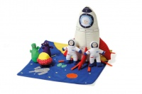 Spaceship Ship Soft Play Set from Oskar & Ellen