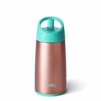 Kids Rose Gold Stainless Steel Water Bottle By Swig