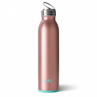 Rose Gold Coloured 20oz or 590ml Water Bottle By SWIG