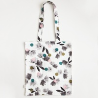 Rose Tinted Canvas Tote Bag By Caroline Gardner