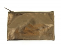 Gold Metallic Pencil Case