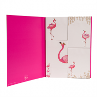 Sara Miller Flamingo Print Set of Sticky Notes