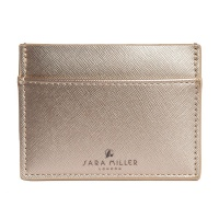 Gold Travel Card Holder by Sara Miller