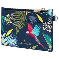 Tropical Parrot Print Coin Purse by Sara Miller