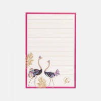 Ostrich Print Magnetic Jotter By Sara Miller London