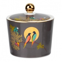 Bird Print Covered Sugar Bowl By Sara Miller London