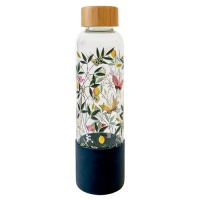 Orchard Butterfly Glass Water Bottle Sara Miller London