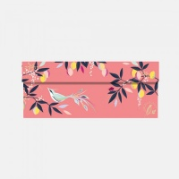 Songbird Print Sara Miller London Medium Gift Box in Coral