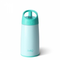 Kids Seaglass Green Stainless Steel Water Bottle By Swig