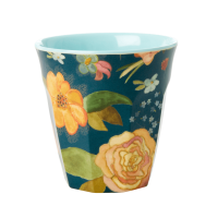 Selma's Fall Flower Print Melamine Cup By Rice DK