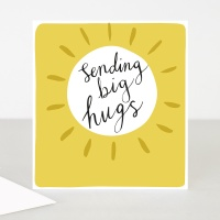 Sending Big Hugs Card By Caroline Gardner