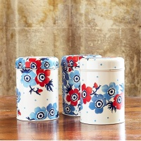 Anemone Print Set of 3 Round Caddies By Emma Bridgewater