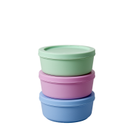 Set of 3  Food Storage Boxes By Rice