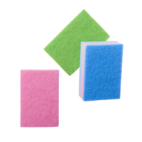 Set of 3 Big Colourful Kitchen Sponges Rice DK