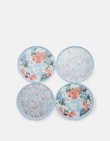 Set of 4 Melamine Side Plates Joules Collection
