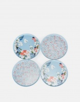 Set of 4 Melamine Dinner Plates Joules Collection