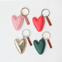Colourful Heart Shaped Keyrings By Caroline Gardner