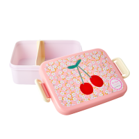 Small Flower & Chery Print Lunchbox By Rice DK
