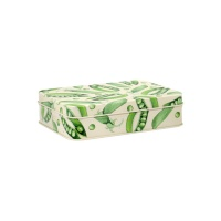 Vegetable Garden Print Small Rectangular Tin Emma Bridgewater