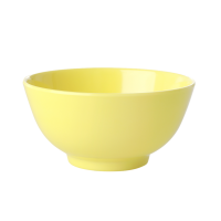 Soft Yellow Melamine Bowl Let's Summer Rice DK