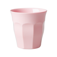 Rice Melamine Cup Soft Pink