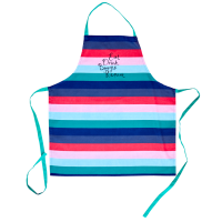 Apron With Stripe Print By Rice DK