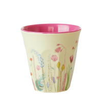 Summer Flower Print Melamine Cup By Rice DK