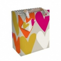 Summer Heart Print Gift Bag By Caroline Gardner