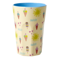 Summer Print Tall Melamine Cup By Rice DK
