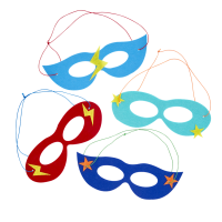 Felt Super Hero Kids Masks By Rice DK
