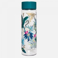 Tahiti Lemur Print Water Bottle By Sara Miller