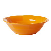 Tangerine Orange Melamine Bowl By Rice DK