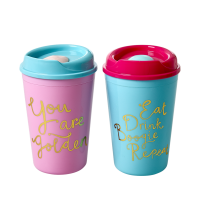 Thermo Cup Sky Blue or Pink By Rice DK