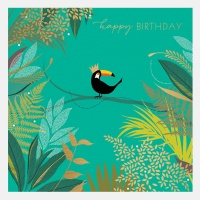 Toucan On A Branch Birthday Card By Sara Miller London