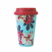 Floral Print Travel Cup By Joules