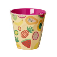 Colourful Tutti Frutti Pint Melamine Cup By Rice DK