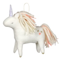 Unicorn Christmas Tree Decoration By Meri Meri