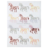 Unicorn Glitter Stickers By Meri Meri