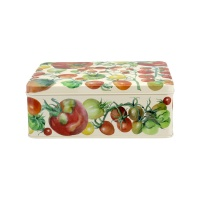 Vegetable Garden Print Deep Rectangular Tin Emma Bridgewater