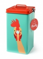Burgon & Ball ''Plucky'' Chicken Storage Tin