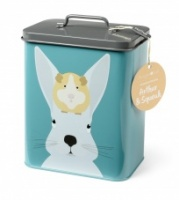 Burgon & Ball ''Arthur & Squeak'' Rabbit & Guinea Pig Storage Tin