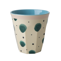 Watercolour Splash Print Melamine Cup Rice DK