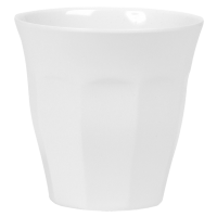 White Melamine Cup by Rice DK
