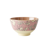 Wild Chervil Print Small Melamine Bowl By Rice DK