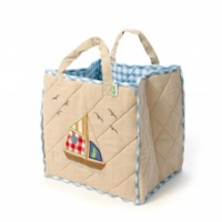 Win Green Boat Toy Bag